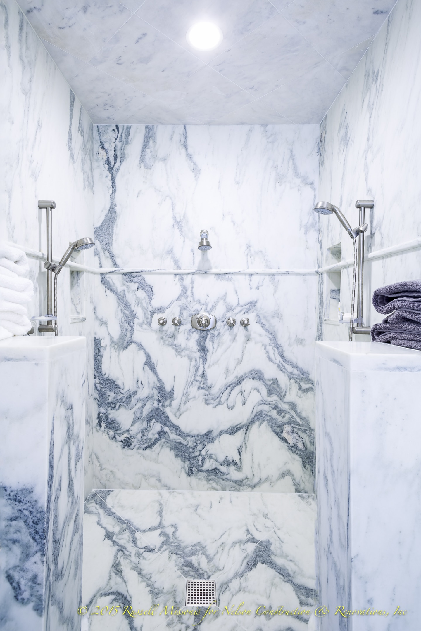 Marble Shower Center