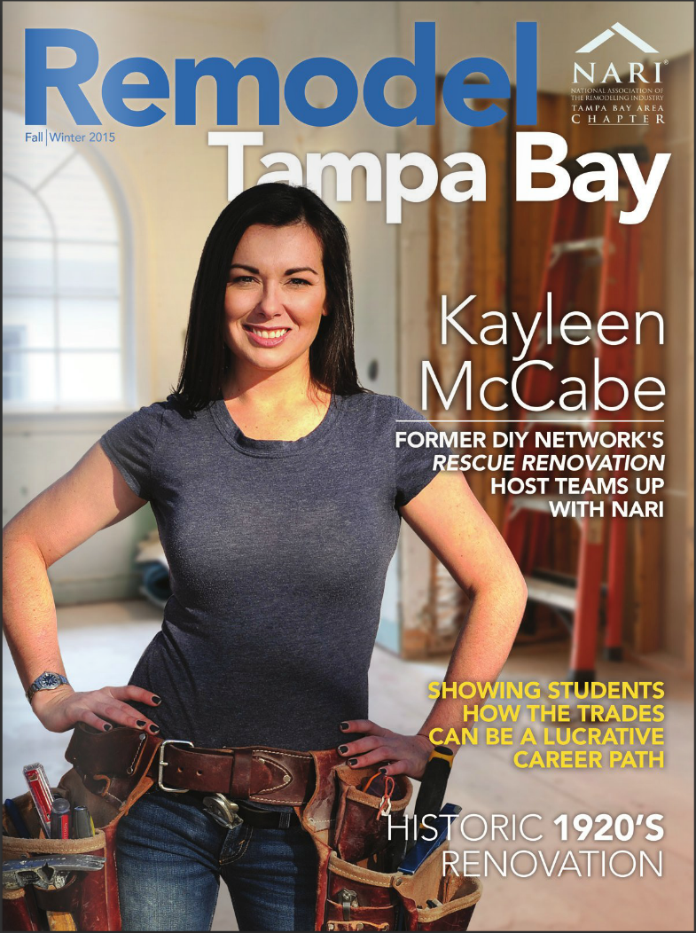 Remodel Tampa Bay Magazine Cover - Clearwater Real Estate Photographer