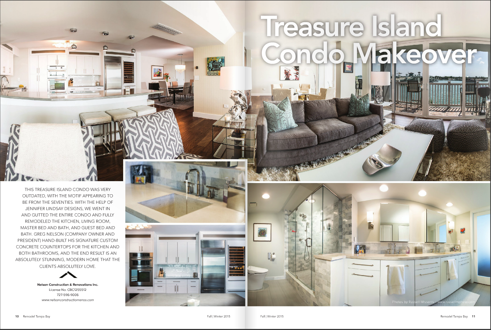Treasure Island Condo Makeover - Real Estate Photography