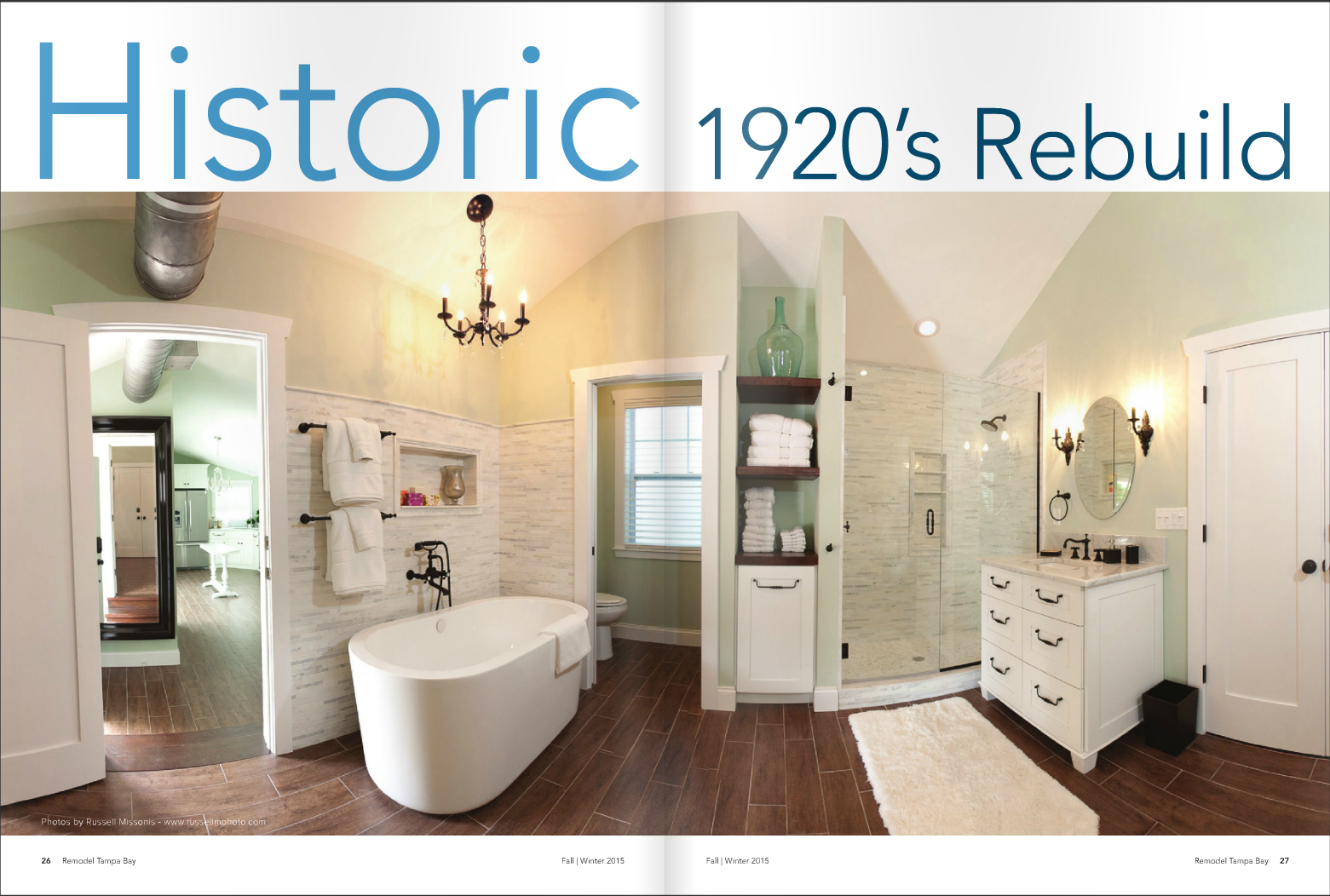 Historic 1920's Rebuild - Real Estate Photography