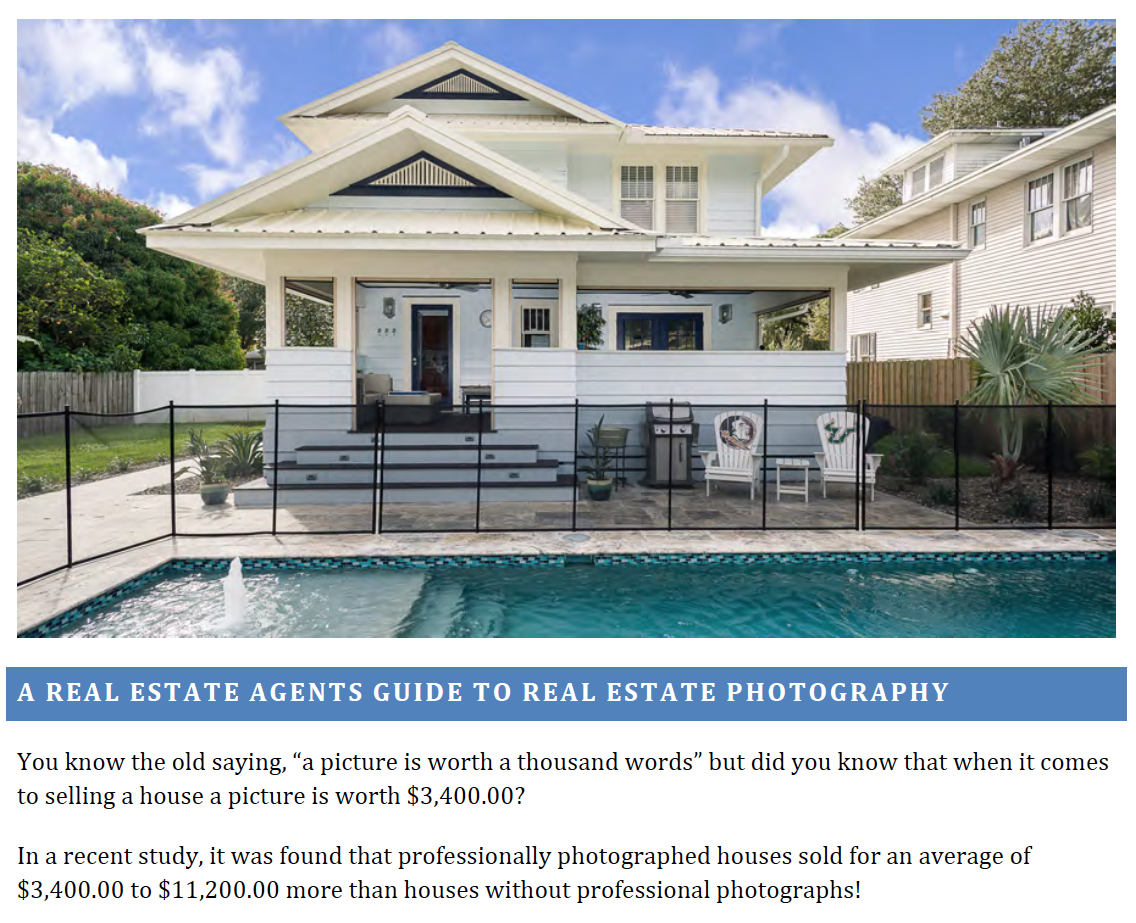 A Real Estate Agents Guide to Real Estate Photography